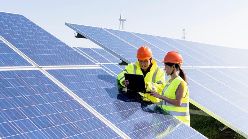 Photovoltaik Überwachung mit IoT Plattform von Mondas